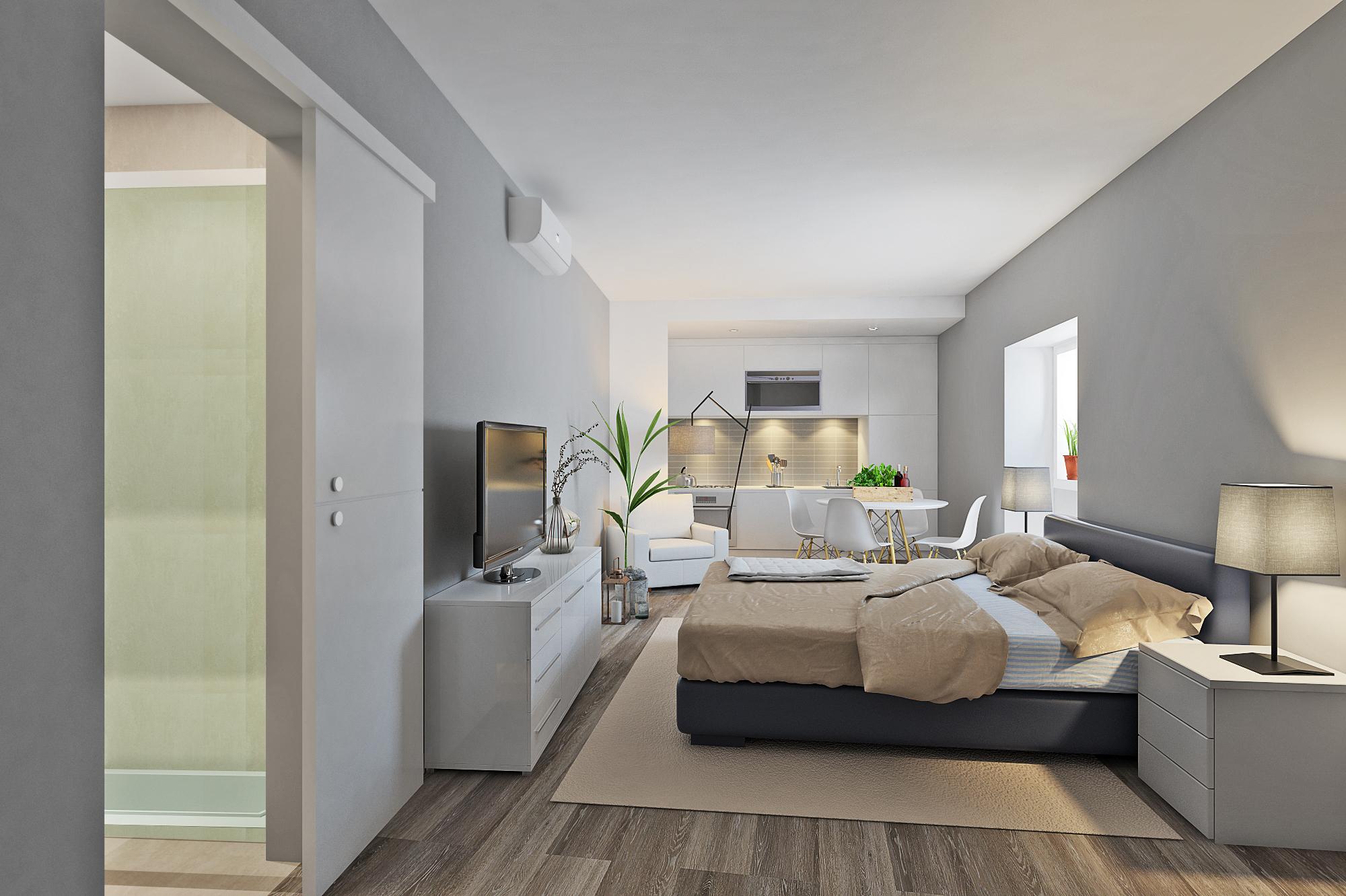 Interior de la Casa arquitectura habitacion inmobiliario fotografía signimo planta 3d interactivo