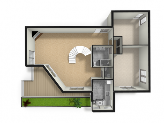 planta apartamento marketing imobiliario Signimo